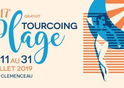 Tourcoing plage 2019